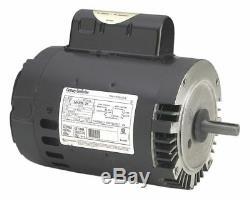 Century 1 HP Pool and Spa Pump Motor, Permanent Split Capacitor, 3450 Nameplate