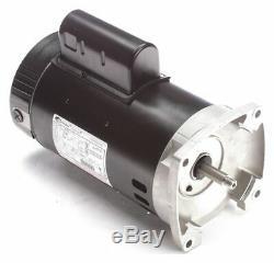 Century 2-1/2 HP Pool and Spa Pump Motor, Permanent Split Capacitor, 230V, 56Y
