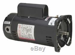 Century 2-1/2 HP Square Flange Pool Pump Motor, Capacitor-Start/Run, 3450