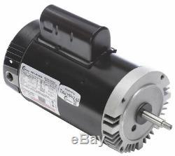 Century 2, 1/4 HP Pool and Spa Pump Motor, Permanent Split Capacitor, 230V, 56J