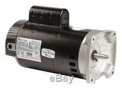 Century 2, 1/4 HP Square Flange Pool Pump Motor, Capacitor-Start/Run, 3450/1725