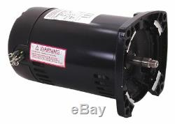 Century 2 HP Pool and Spa Pump Motor, 3-Phase, 3450 Nameplate RPM, 208-230/460