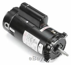 Century 2 HP Pool and Spa Pump Motor, Capacitor-Start/Run, 115/208-230V, 56J