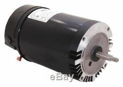 Century 2 HP Pool and Spa Pump Motor, Permanent Split Capacitor, 115/208-230V