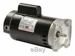 Century 2 HP Pool and Spa Pump Motor, Permanent Split Capacitor, 3450 Nameplate