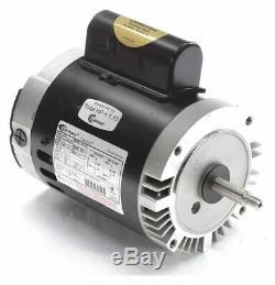 Century 3/4 HP Pool and Spa Pump Motor, Permanent Split Capacitor, 115/230V, 56J