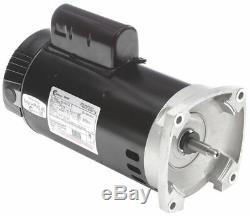 Century 3 HP Pool and Spa Pump Motor, Permanent Split Capacitor, 208-230V, 56Y