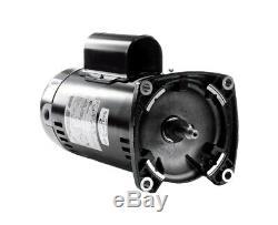 Century A. O. Smith SQ1152 Pool Pump Motor 1.5HP 230V 48Y Frame Square Flange