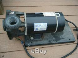 Century Laser Hot Tub Pool Spa Motor Pump 1.5 HP 115 Volts Works Great Bn37