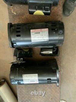 Century Two Speed Pool & Spa Motor, 230v, Hz 60, Ph 1, Cxpm Type, 3450/1725 RPM