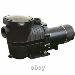 Flow Xtreme NE4519 Durable Pro 2 In Ground Pool Pump, Black Garden & Outdoor