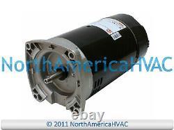 GE Genteq Square Flange Pool Spa Pump Motor 1.5 HP 5KC39UN2522X