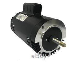 GW YYN5652-L7C 1 HP 3450RPM 1.4 Service Factor 56J Frame Pool Pump Motor