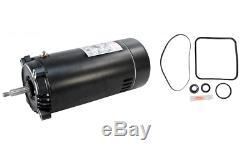 Hayward Super Pump 1 1/2 HP Pool Pump Replacement Motor With Repair Kit UST1152