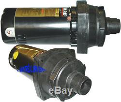 Hayward pool Super Pump 1.0 HP Power End MOTOR assy. 115/230V model SP2607X10DE