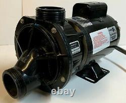HydraBaths Spa/Pool Pump Model HP6075SD-SW Serial 202102C A. O Smith AC Motor