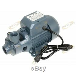 Industrial 1HP Centrifugal Clear Water Pump 1 Electric Pond Pool 16GPM 3450RPM