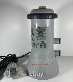 Intex Easy Set Pool 1000 GPH Filter Pump Housing & Motor Only 11469EG IN HAND