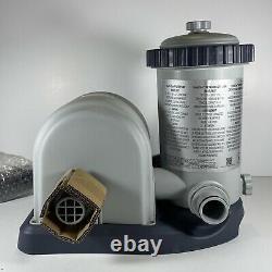 Intex Easy Set Pool 1500 GPH Filter Pump Housing & Motor Only 11471EG IN HAND