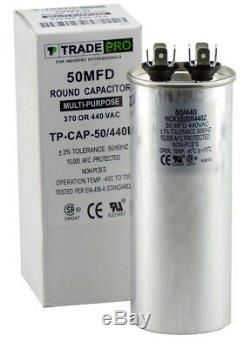 LOT (30pc) 50 MFD uF Run Capacitor 370 vac Volts AC Motor HVAC water pool pump