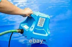 Little Giant Automatic Swimming Pool Cover Submersible Pump 1/3 HP 1700 GPH USA