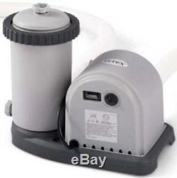 NEW Intex Krystal Clear Cartridge Easy Set Pool Filter Pump Motor 1500 Gallon