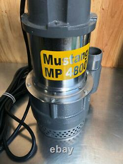 NEW Mustang MP 4800 Submersible Water Pump 2 NPT Discharge Swimming Pool 80 GPM