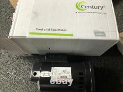 New Century B2841V1 Century 1 HP 3450 RPM Stainless Steel Pool & Spa Pump Motor