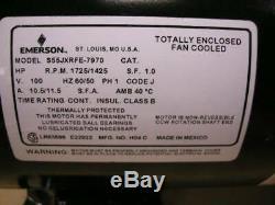 New Emerson US Motors 1 HP Pool Spa Pump Motor Model S55JXRFE-7970