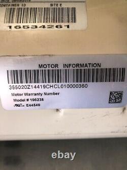 Pentair 355020S 3/4HP 1PH 60Hz Pool Pump Motor NEW! FREE SHIPPING