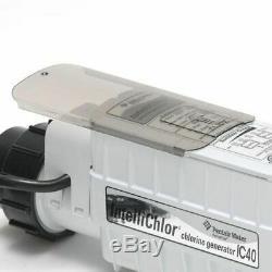 Pentair Intellichlor IC40 Salt Cell Chlorine Generator Pool Spa Sanitizer 520555
