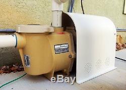 Pentair Intelliflo Pump Motor Cover Variable Speed Pool Pump Motor/Drive Cover