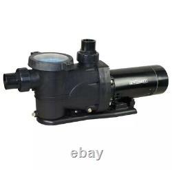 Pool Pump 1.5 HP 230-Volt/115-Volt Single Phase Motor No-Noise Work Self Priming