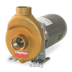 Pool/Spa Pump, 1 HP, 1 Phase, 115/230 Voltage, 14/7 Amps, Motor Capacitor Start
