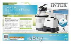 Powerful Motor 1200 GPH Sand Filter Pump 110-120V GFCI Spas Pools Pump 10-inch