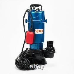 Schmutzwasserpumpe Tauchpumpe mit Schwimmer IBO1500With1,5KW +30m Schlauch