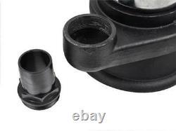 Schmutzwasserpumpe, Tauchpumpen Nickel 550W Schneidmesser +2x 20m 2'' Schlauch