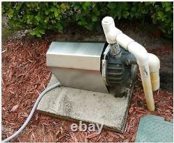 Stainless Steel Universal Irrigation Pool Pump Motor Cover