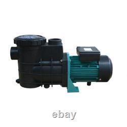 TECHTONGDA 110V Centrifugal Filter Self-Priming Circulation Pump 3200RPM