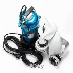 Tauchpumpe Schmutzwasserpumpe Baupumpe IBO + 30m 2 Schlauch