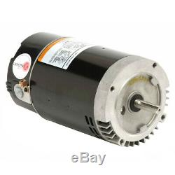 US MOTORS #ASB817 IN GROUND POOL Pump Motor 3 hp 3450 RPM 208/230 Volts KEYED