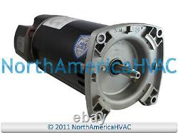 US Motors Nidec Square Flange Pool Spa Pump Motor 1.5 HP C56M2P104 C56M2P104A1
