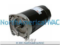 US Motors Nidec Square Flange Pool Spa Pump Motor 3/4 HP K48K2P101A1 O-193992-06