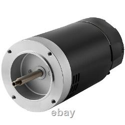 VEVOR 1.5 HP 115/230V Pool Pump Motor 56J Swimming Pool Motor Replacement Kit