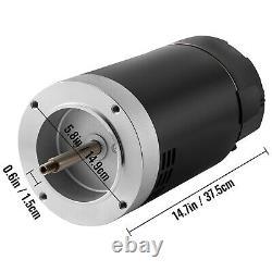 VEVOR 1 HP 115/230V Pool Pump Motor 56J Swimming Pool Motor Replacement Kit