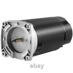 VEVOR 1 HP 115/230V Pool Pump Motor 56Y Swimming Pool Motor Replacement Kit
