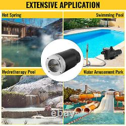 VEVOR Pool Pump Motor Electric Motor 1 HP 115/230V Swimming Pool Motor 3467 RPM