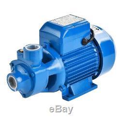Water Pump 1/2HP Electric Clear Transfer Centrifugal Bio Diesel Pond Pool Farm