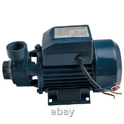 Water Pump 1/2HP Electric Clear Transfer Centrifugal Pool Pond 110V 60hz 370W