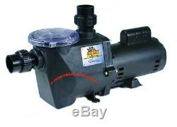 Waterway Champion 56frame in-ground POOL PUMP 2HP 115/230V 1-speed motor